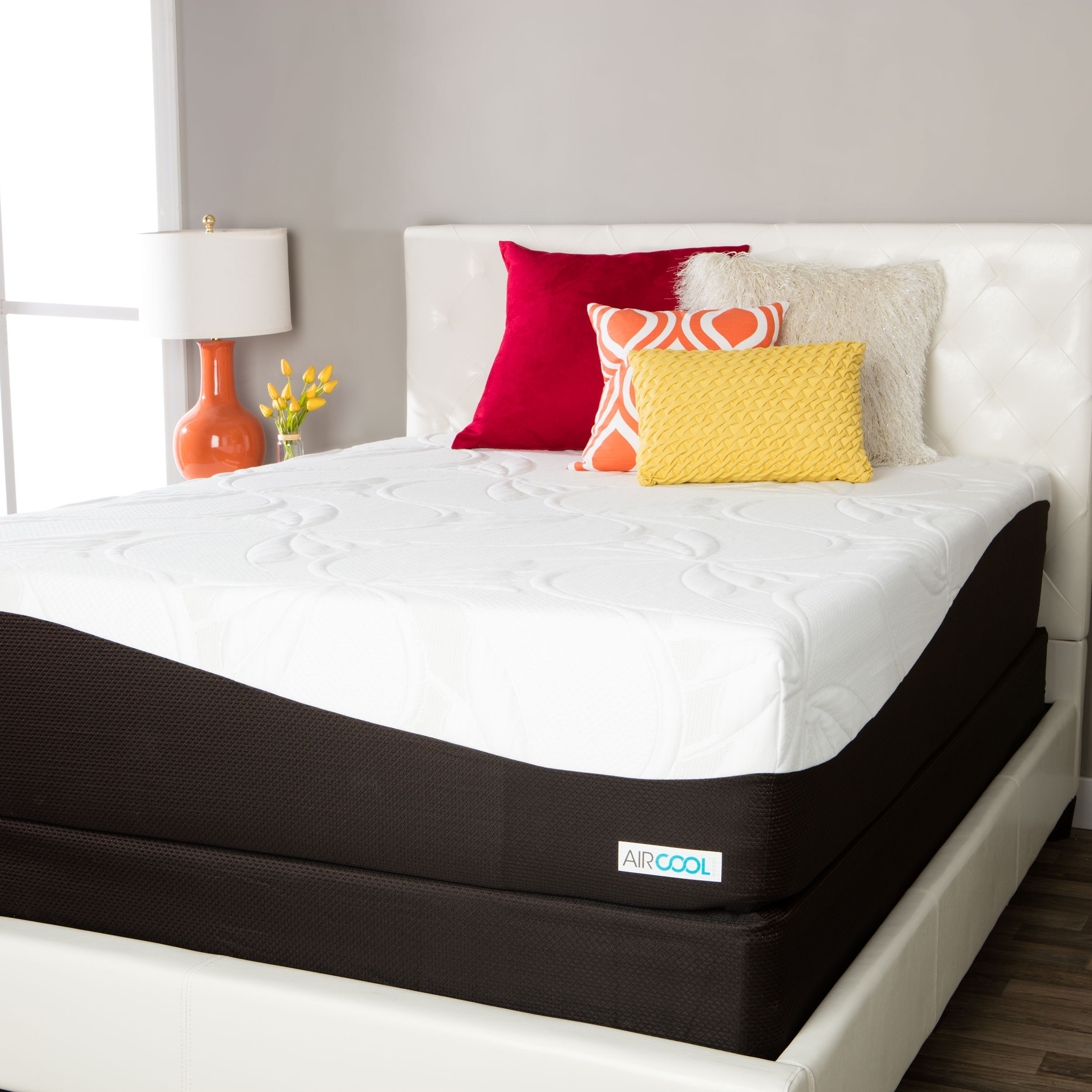 buy popular ceeb0 01351 ComforPedic from Beautyrest Choose Your Comfort 14-inch Gel Memory Foam  Mattress Set