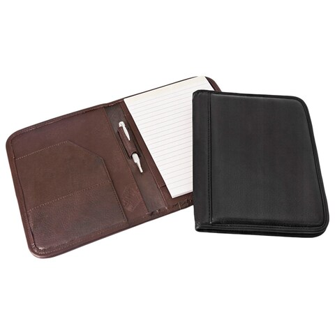 Canyon Outback Antelope Mesa Junior Leather Meeting Folder with Pen
