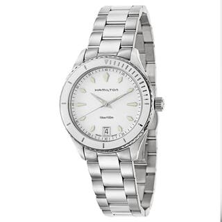 Hamilton Women's H37411911 Stainless Steel Watch|https://ak1.ostkcdn.com/images/products/11460456/P18418018.jpg?impolicy=medium