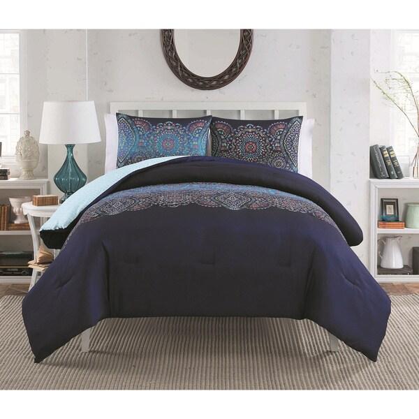 VCNY Daphne Navy 2 & 3-piece Comforter Set