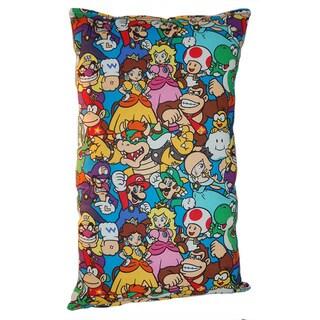 Lillowz Nintendo Super Mario Bros Reversible 9 x 16-inch Rectangular Throw Pillow