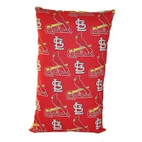 Lillowz MLB St. Louis Cardinals Reversible 9 x 16-inch Rectangular Throw Pillow
