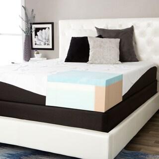Comforpedic from Beautyrest Choose Your Comfort Gel Memory Foam 10-inch Queen-size Mattress Set