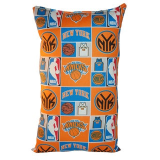 Lillowz NBA New York Knicks Reversible 9 x 16-inch Rectangular Throw Pillow