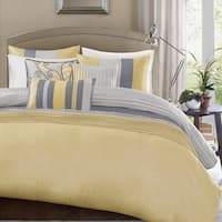 Palm Canyon Serenity Yellow Duvet Cover Set