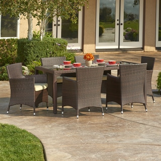 Hamburg 7-Piece All-Weather Wicker Dining Set