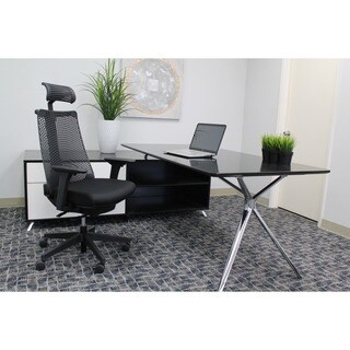 Boss Contemporary Executive Chair with Optional Headrest