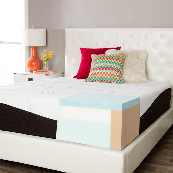 comforpedic from beautyrest choose your comfort 14inch kingsize gel memory foam mattress