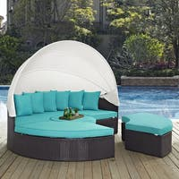 Convene 86-inch Canopy Outdoor Patio Daybed