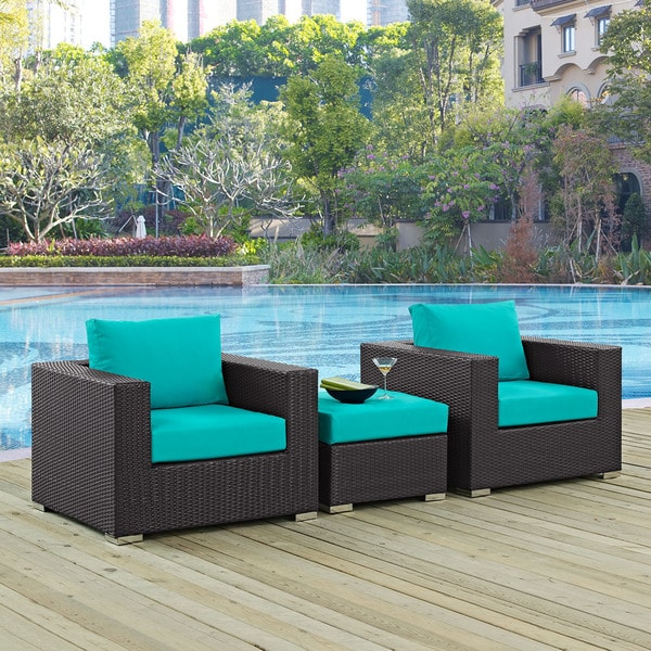 Gather 3-piece Outdoor Patio Sofa Set. Opens flyout.