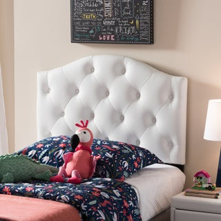 Taylor & Olive Founders Twin-size Button-tufted Headboard