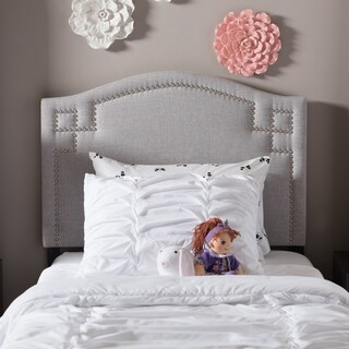 Laurel Creek Payton Kids Twin Size Upholstered Headboard (2 options available)