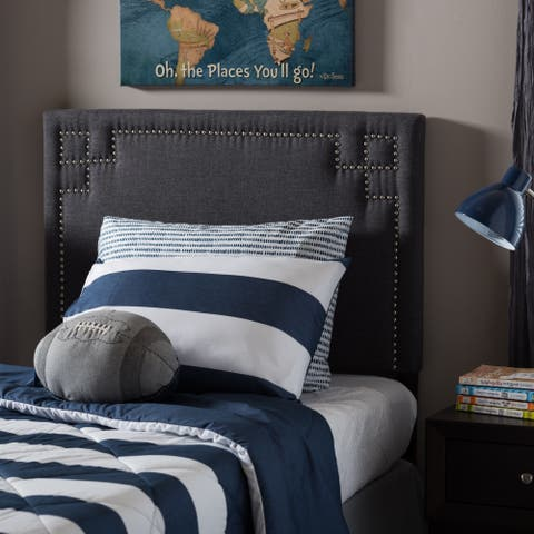 Taylor & Olive Dovetail Modern and Contemporary Twin-size Fabric Upholstered Headboard