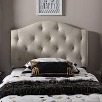 Laurel Creek Payton Twin Button-tufted Scalloped Headboard