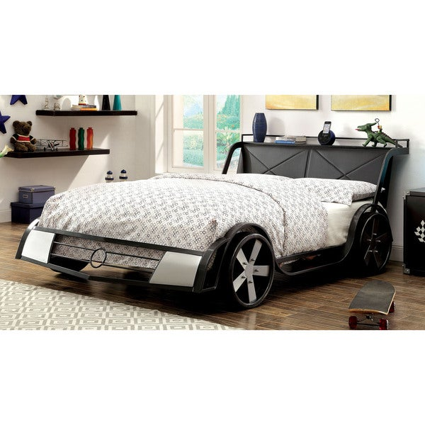 Furniture of America Born Racer Metal Full Youth Bed
