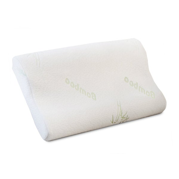 Shop Better Sleep Memory Foam Contour Pillow With Cover
