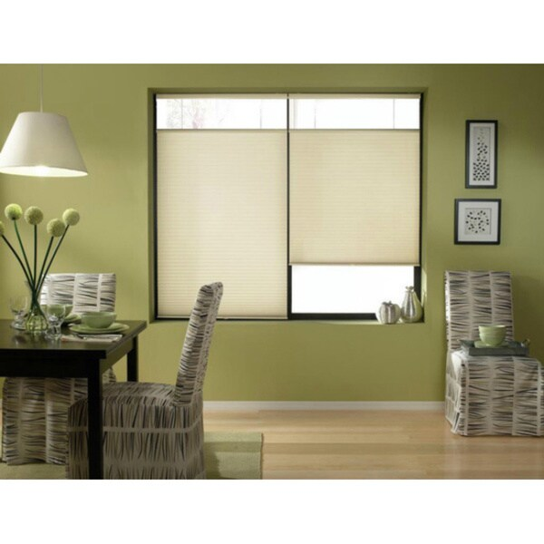 First Rate Blinds Daylight 26 to 26.5-inch Wide Cordless Top Down Bottom Up Cellular Shades. Opens flyout.