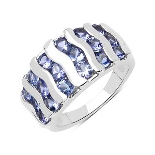 Olivia Leone Sterling Silver 2 2/5ct TGW Tanzanite Ring