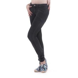 Army Pink Women's Black Slim Leg Denim Jeans