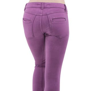 Army Pink Women's Radiant Orchid Slim Leg Denim Jeans|https://ak1.ostkcdn.com/images/products/11461415/P18418767.jpg?impolicy=medium