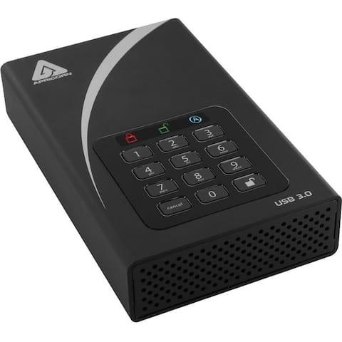 "Apricorn Aegis Padlock DT ADT-3PL256-8000 8 TB Hard Drive - 3.5"" Drive - External - Desktop"