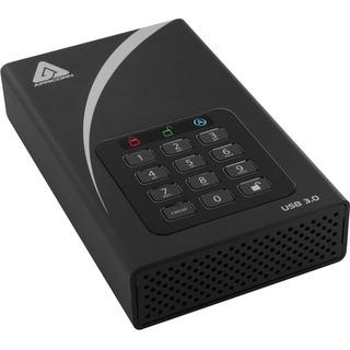 "Apricorn Aegis Padlock DT ADT-3PL256-8000 8 TB Hard Drive - 3.5"" Driv"