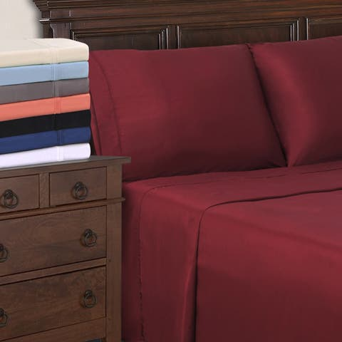 Superior 300 Thread Count Modal Deep Pocket Solid Sheet Set