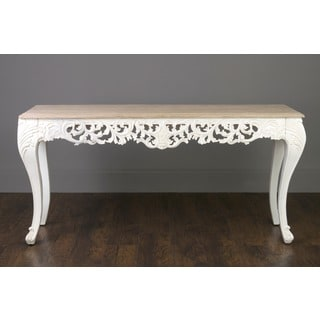 Crafted Home's Malissa Carving Solid Wood