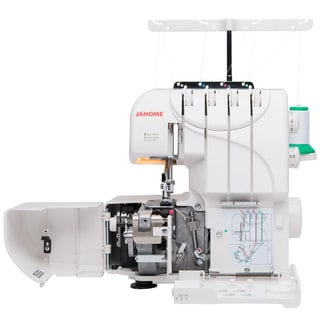 Janome MOD-Serger with Lay-In Threading, and 3 and 4 Thread Convertible with Differential Feed
