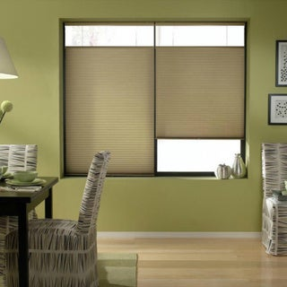 Gold Rush 20 to 20.5-inch Wide Cordless Top Down Bottom Up Cellular Shades