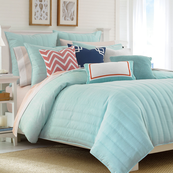 Shop Nautica Mainsail Blue Aqua Comforter Set Free
