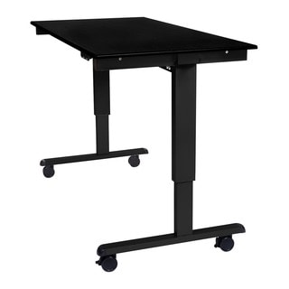 Offex Stande 60-inch Home Office Electric Standing Desk - Black Frame
