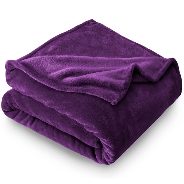Home & Garden Home Décor Snow Camouflage With Purple Design Soft Fleece Throw Blanket Great Gift Idea