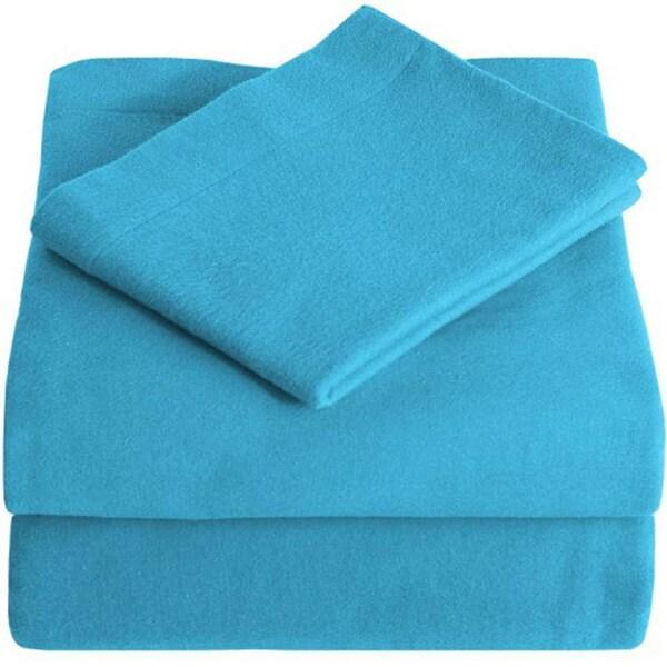 100% Cotton Velvet Flannel Sheet Set - Extra Soft Heavyweight - Double Brushed Flannel - Deep Pocket