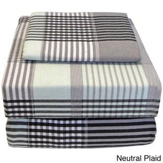 100-percent Super Soft Cotton Flannel Twin XL Sheet Set