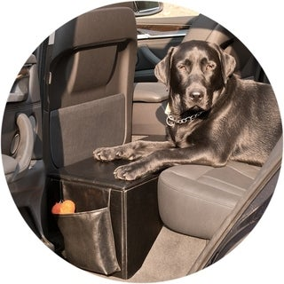 Enchanted Home Pet Therapeutics OrthoPetic Sturdy Backseat Extender with Storage