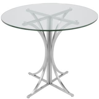 Boro Contemporary Brushed Stainless Steel Dining Table https://ak1.ostkcdn.com/images/products/11467664/P18424232.jpg?impolicy=medium