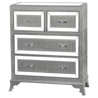 Powell Fiona Silver 4-drawer Chest