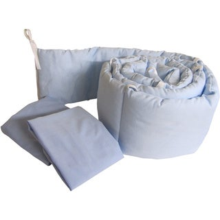 Grandma's Package Pretty Pique Porta Crib Bedding