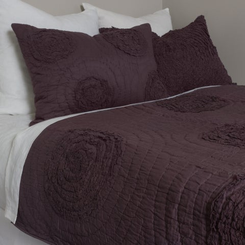 Rowen Cotton Plum Quilt