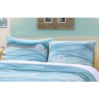 Greenland Home Fashions  Maui Coastal Pillow Sham Set