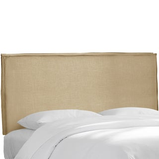 Skyline Furniture Sandstone Linen Slipcover Headboard