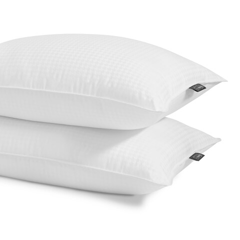 Beautyrest Black 300 Thread Count Down Alternative Pillow (Set of 2) - White