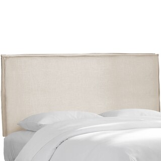 Skyline Furniture Talc Linen Slipcover Headboard