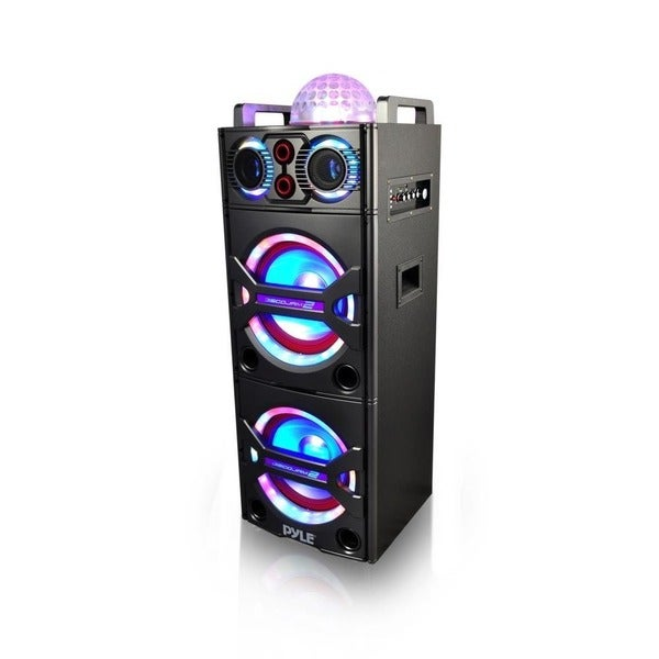 shop pyle psufm1043bt bluetooth pa loudspeaker karaoke entertainment system free shipping. Black Bedroom Furniture Sets. Home Design Ideas