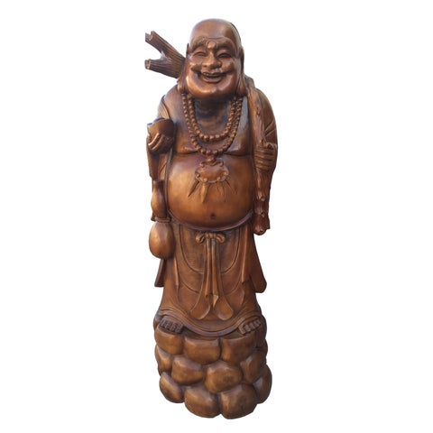 Handmade D-Art Happy Buddha Statue (Indonesia)