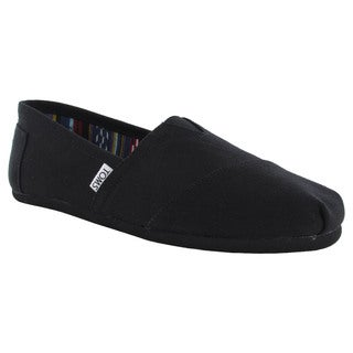 Toms Men's 'Classic Canvas' Slip On Casual Loafer Shoes