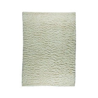 M.A.Trading Indian Hand-knotted Tokyo Off-white Rug (6'6 x 9'9)