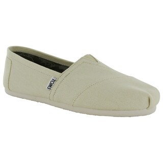 Toms Women's 'Classic Canvas' Slip On Casual Loafer Shoes