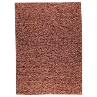 M.A.Trading Indian Hand-knotted Tokyo Red/ Rust Rug (6'6 x 9'9)